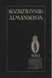 Közbiztonság Almanachja - Régikönyvek