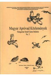 Magyar apróvad közlemények 3. - Régikönyvek