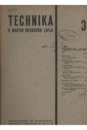 Technika 3. - Régikönyvek
