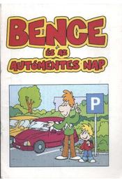 Bence és az autómentes nap - Régikönyvek