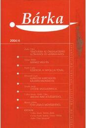 Bárka 2004/4 - Régikönyvek