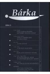 Bárka 2004/3. - Régikönyvek