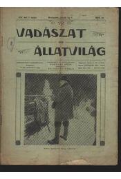 Vadászat és állatvilág 1914. január 1. - Régikönyvek