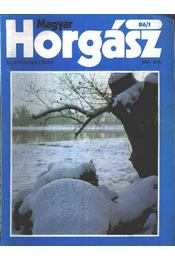 Magyar Horgász 1986. XL. évfolyam (hiányos) - Régikönyvek