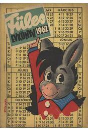 Füles évkönyve 1962 - Régikönyvek