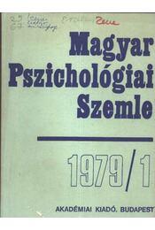 Magyar Pszichológiai Szemle 1979/1 - Régikönyvek