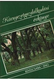 Környezetgazdálkodási évkönyv 1989 - Régikönyvek