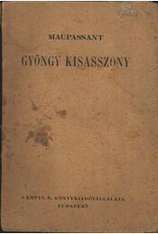 Gyöngy kisasszony - Régikönyvek