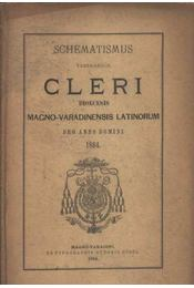 Schematismus venerabilis Clrei - Régikönyvek