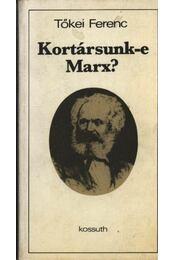 Kortársunk-e Marx? - Régikönyvek