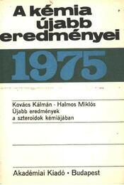 A kémia újabb eredményei 27. 1975. - Régikönyvek
