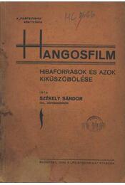 Hangosfilm (dedikált) - Régikönyvek