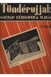 Tündérujjak 1933. szeptember IX. évf. 9. (101) szám - Régikönyvek