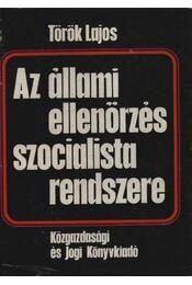 Az állami ellenőrzés szocialista rendszere - Régikönyvek