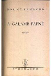 A galamb papné - Régikönyvek