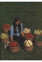 Kertünk-asztalunk színes zöldségei - Régikönyvek