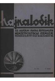 Hajnalodik- III. évf. 9. - Régikönyvek