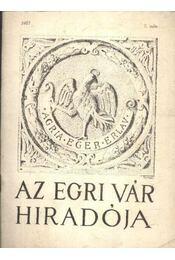 Az egri vár híradója 1967/7. szám - Régikönyvek