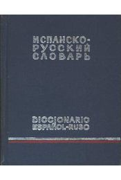 Spanyol-orosz szótár - Régikönyvek