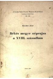 Békés Megye néprajza a XVII. században - Régikönyvek