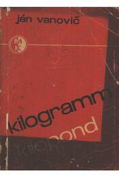 Kilogramm - kilopond - Régikönyvek