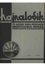Hajnalodik - III. évf. 8. - Régikönyvek