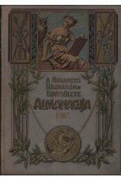A Budapesti Újságírók Egyesülete Almanachja 1907. - Régikönyvek