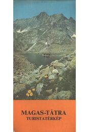 Magas-Tátra turistatérkép - Régikönyvek