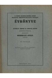 atirni - A Gróf Klebelsberg Kunó Magyar Történetkutató Intézet Évkönyve VII. évfolyam 1937 - Régikönyvek