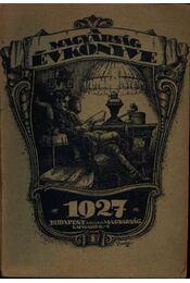 A Magyarság évkönyve 1927 - Régikönyvek