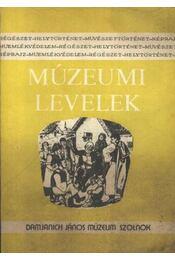 Múzeumi levelek 51-52. szám - Régikönyvek