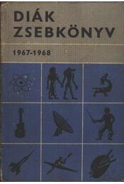 Diák zsebkönyv 1967-1968 - Régikönyvek