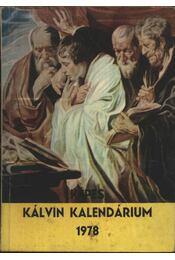 Képes Kálvin kalendárium 1978 - Régikönyvek