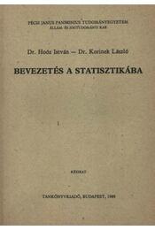 Bevezetés a statisztikába - Régikönyvek