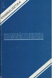 Krimináltechnika - Régikönyvek