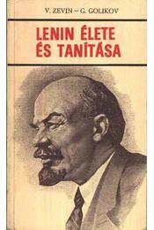 Lenin élete és tanítása - Régikönyvek