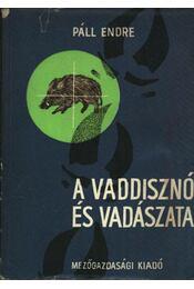 A vaddisznó és vadászata - Régikönyvek