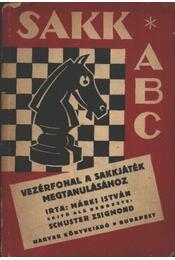 Sakk ABC - Régikönyvek