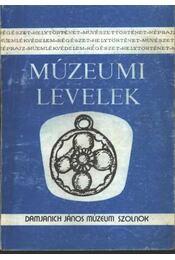 Múzeumi levelek 75. sz. I-II. kötet - Régikönyvek