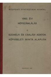 1960. évi népszámlálás - Régikönyvek