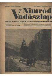 Nimród Vadászlap 1948. febr. 15. - Régikönyvek
