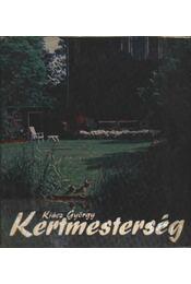 Kertmesterség - Régikönyvek
