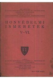 Honvédelmi ismeretek V-VI. - Régikönyvek