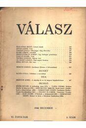 Válasz 1946. december VI. évfolyam 3. szám - Régikönyvek