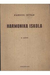 Harmonika iskola II. kötet - Régikönyvek