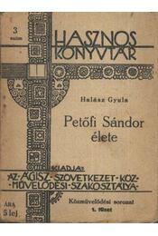 Petőfi Sándor élete - Régikönyvek