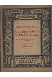 A múmia lába - Régikönyvek