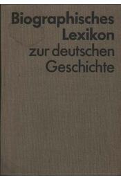 Biographisches Lexikon zur deutschen Geschichte - Régikönyvek