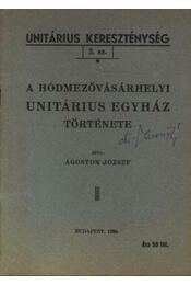 A hódmezővásárhelyi Unitárius egyház története - Régikönyvek