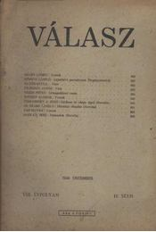 Válasz 1948/december - Régikönyvek